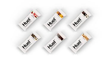 Huel - nowy baton, biała czekolada i maliny