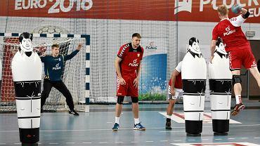 Trening reprezentacji Polski w piłce ręcznej w Orlen Arenie