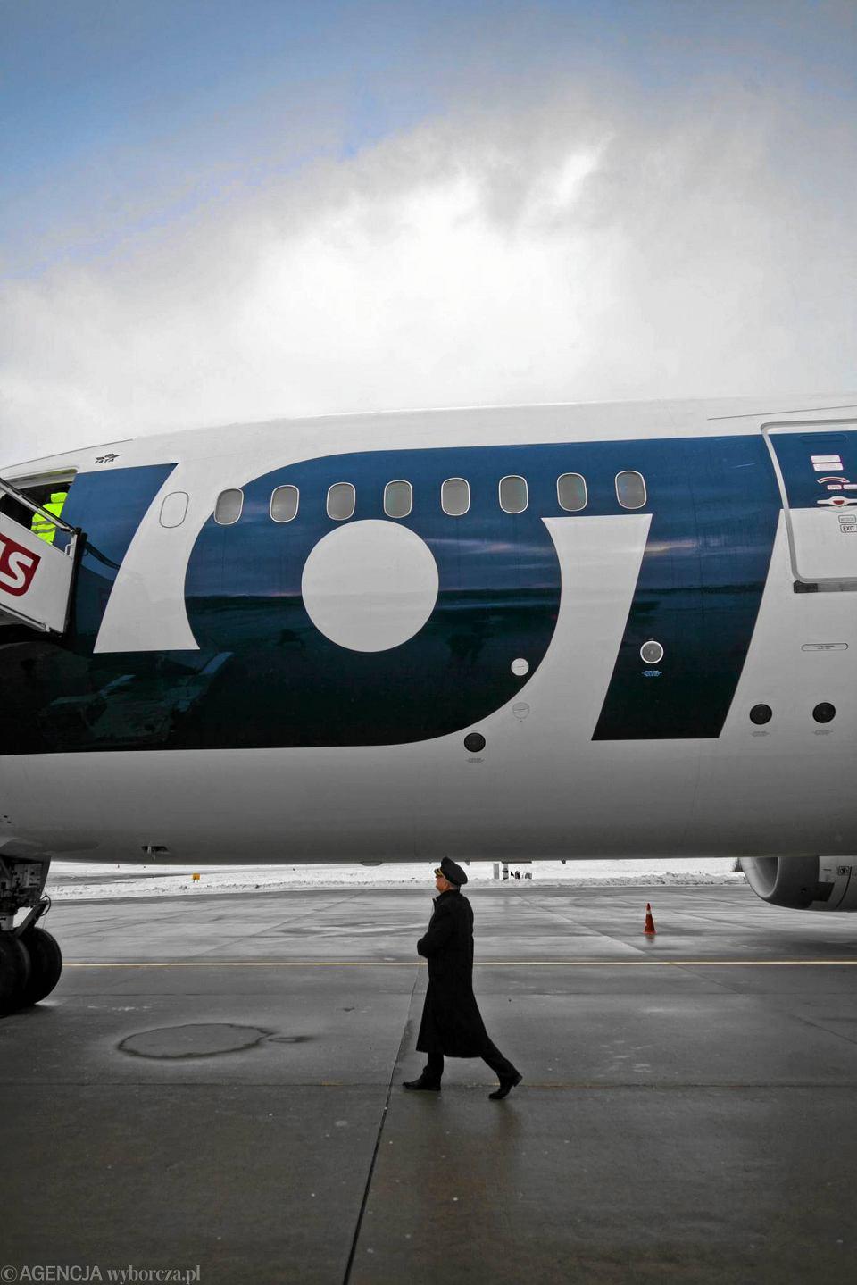 Boeing 787 Dreamliner w barwach LOT