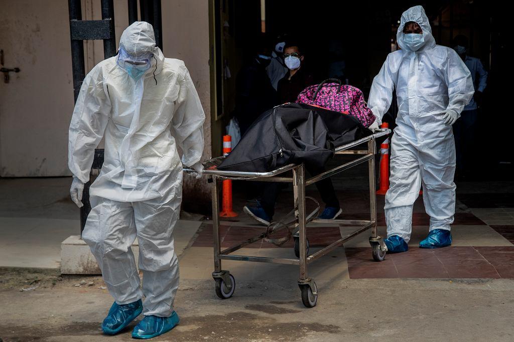 Indyjski 'czarny grzyb' atakujący ozdrowieńców covidowych dotarł do Iraku (zdjęcie ilustracyjne)