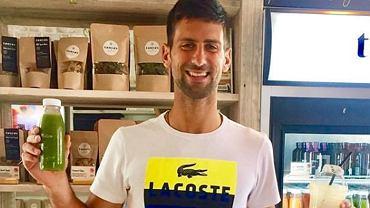 Novak Djoković i jego dieta