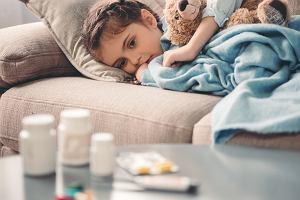 Infekcja wirusowa u dziecka - objawy i leczenie