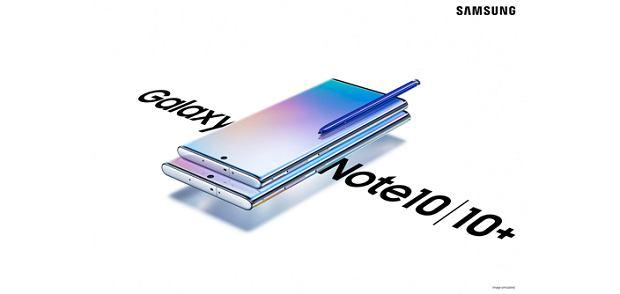 Samsung zaprezentował dwa nowe smartfony. Przedsprzedaż Galaxy Note 10 i Note 10+ już się zaczęła