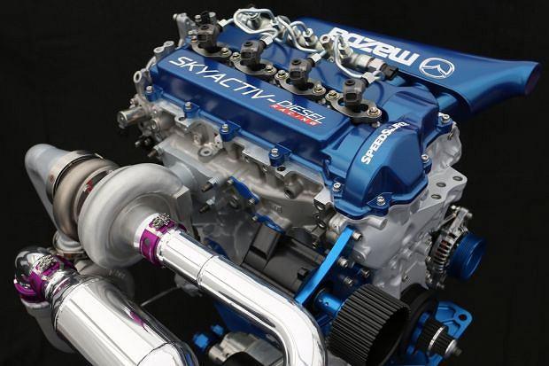 Silnik Mazda Skyactiv-D Clean Diesel Racing