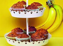 Mufinki bananowo-miodowe - ugotuj