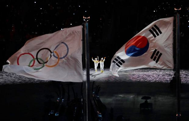 Zimowe igrzyska olimpijskie 2018 otwarte! Kim Yuna zapaliła olimpijski znicz