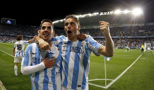 Piłkarze Malagi: Isco i Joaquin Sanchez