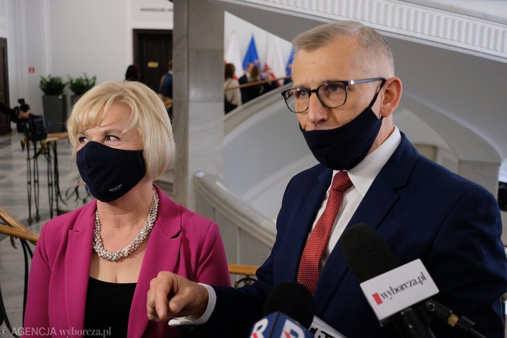 Lidia Staroń i Krzysztof Kwiatkowski