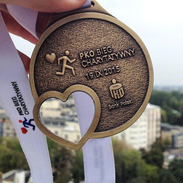 PKO Bieg Charytatywny, medal, bieganie