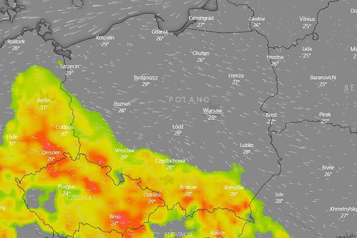 Gwałtowne burze z gradem na południu Polski. IMGW wydaje ostrzeżenia (zdjęcie ilustracyjne)