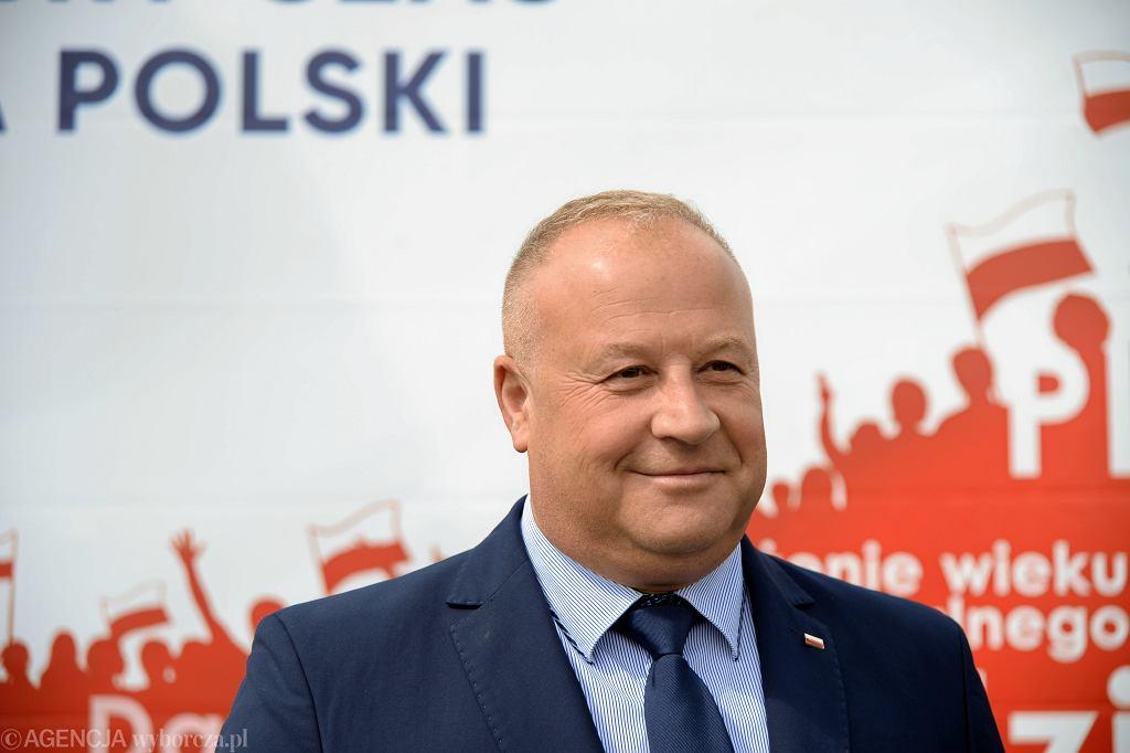 Poseł PiS Artur Szałabawka