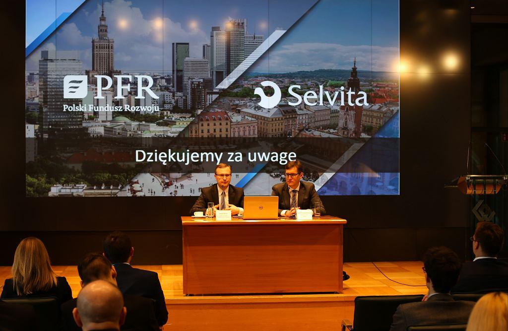 Podpisanie umowy PFR z Selvitą
