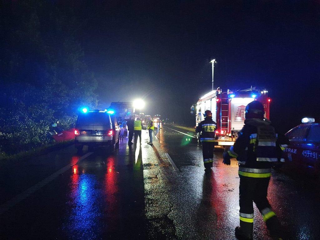 Tragiczny wypadek w Kleszczowie