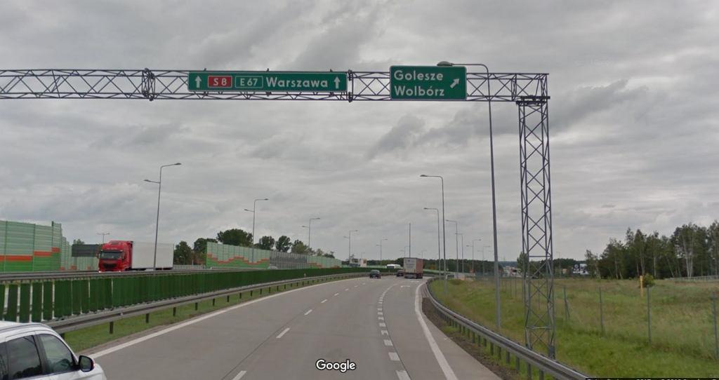 Piotrków Trybunalski: Wypadek na S8 (zdjęcie ilustracyjne)