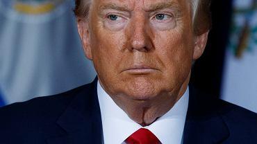 Prezydent USA Donald Trump. Zdjęcie ilustracyjne