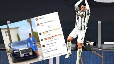 Cristiano Ronaldo, Juventus. Źródło: AP / Instagram