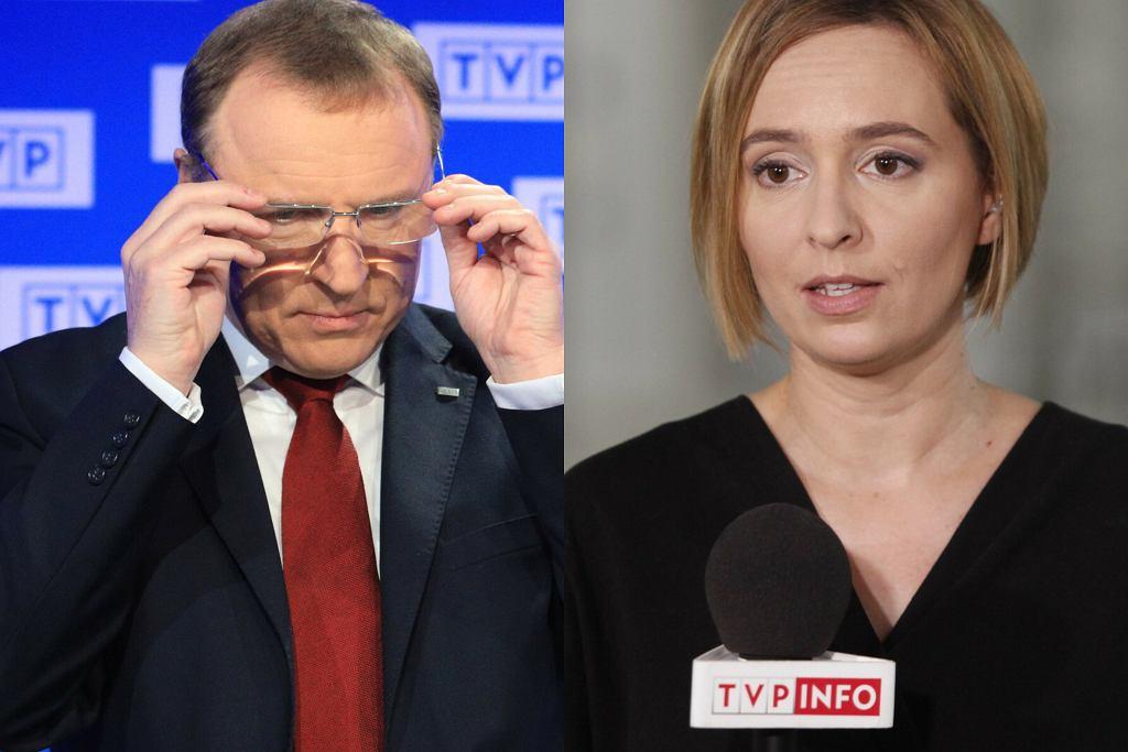 Jacek Kurski, Karolina Lewicka