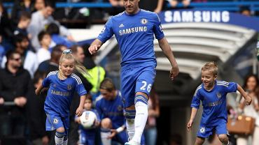 John Terry, piłkarz Chelsea Londyn, też gra w stroju adidasa