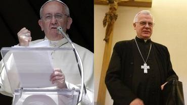 Papież Franciszek i arcybiskup Józef Michalik