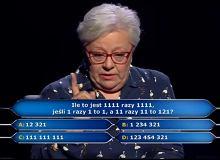 Milionerzy. Pytanie za milion złotych ponownie w programie. Pani Maria Romanek milionerką!