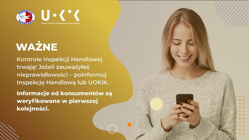 Doniesienia konsumentów są weryfikowane w pierwszej kolejności