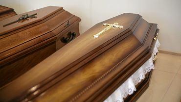 Zakład pogrzebowy. Zdjęcie ilustracyjne