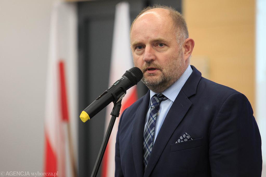 Marszałek woj. kujawsko-pomorskiego Piotr Całbecki