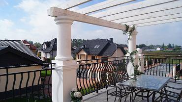 Widok z balkonu willi Azalia w kompleksie J.W. Construction