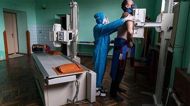 Koronawirus na Ukrainie