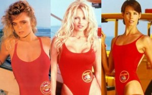 Pamela Anderson, Erika Eleniak, Alexandra Paul