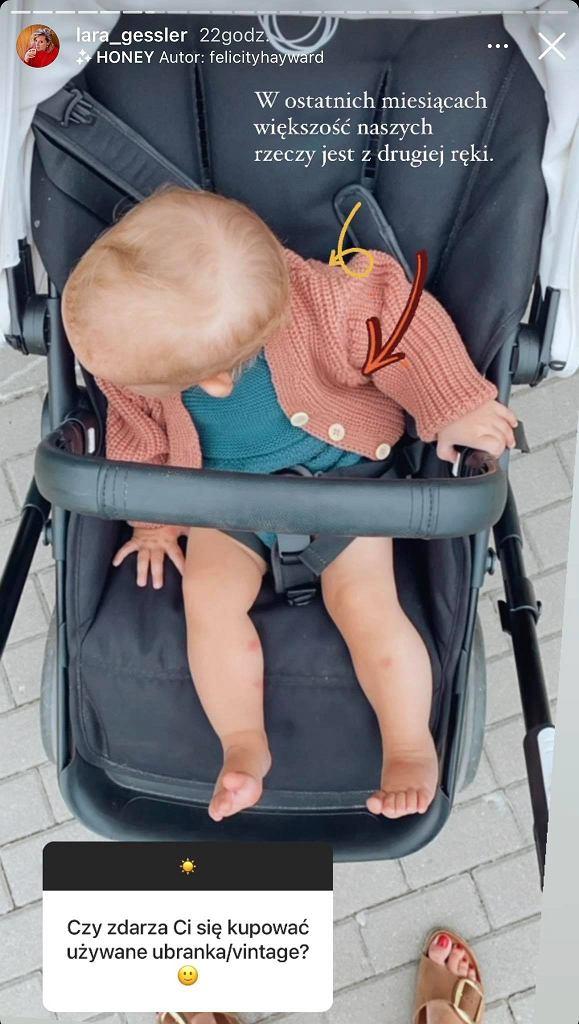 Lara Gessler kupuje córce ubrania z drugiej ręki