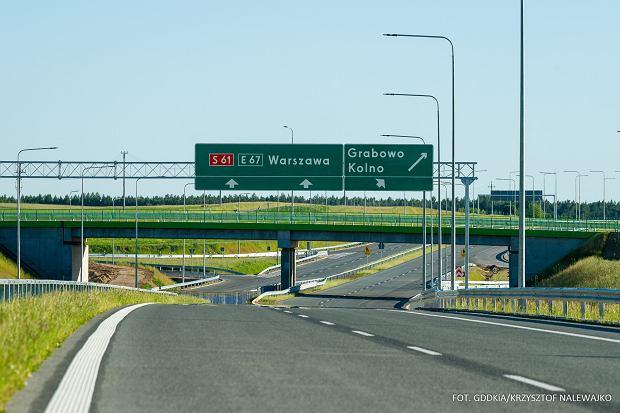 Od dziś otwarty kolejny odcinek trasy Via Baltica. Pojedziemy nim na Mazury