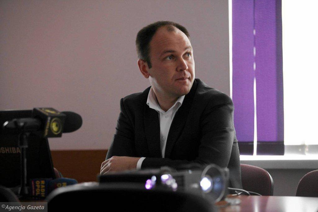 Tomasz Garbowski, prezes OZPN