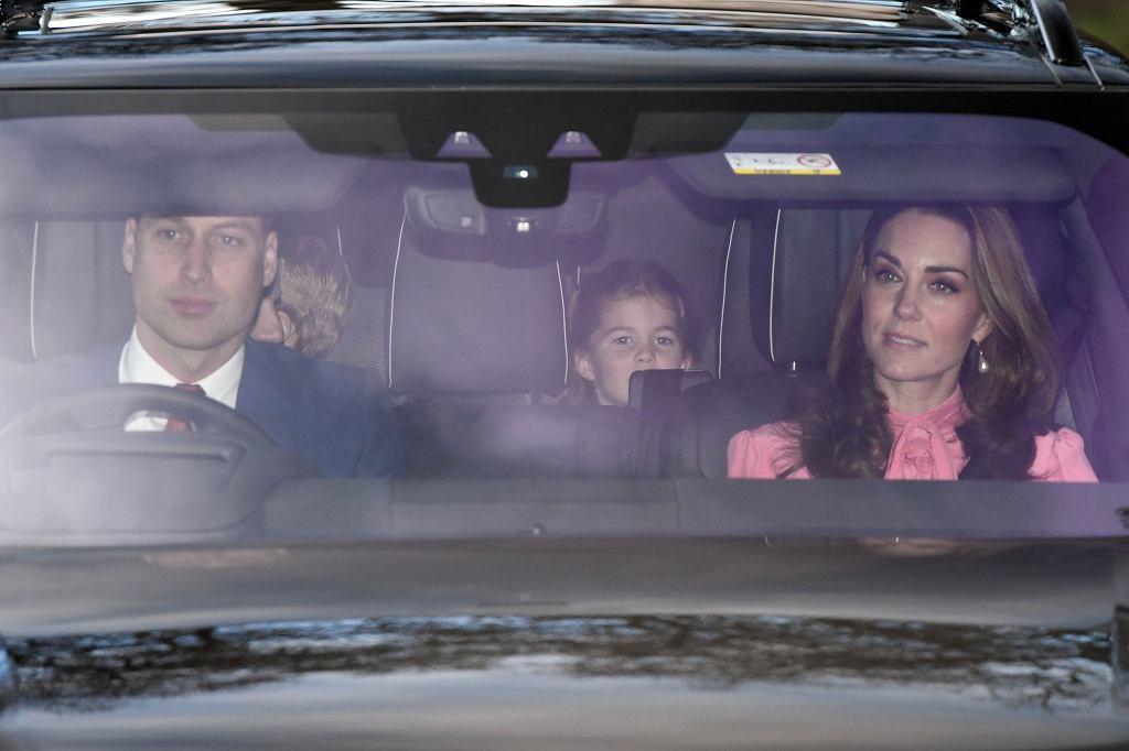 Świąteczne spotkanie u królowej Elżbiety