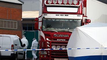 Ciała 39 obywateli Chin znalezione w ciężarówce