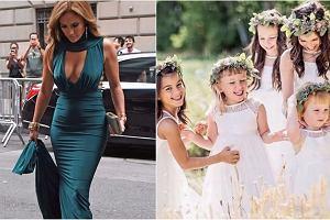 Jennifer Lopez, dzieci na ślubie Kenzy