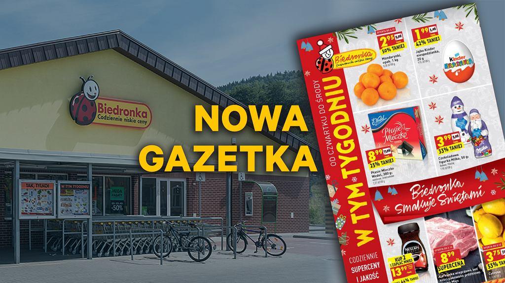 Gazetka Biedronka 20 grudnia