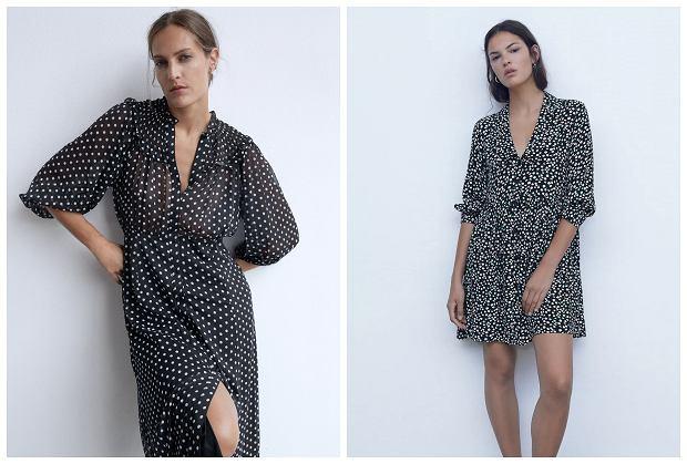 Zara wyprzedaż - te sukienki możesz nosić również jesienią! Modele w atrakcyjnych cenach