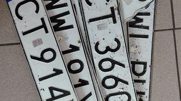 Tablice czekają na właścicieli
