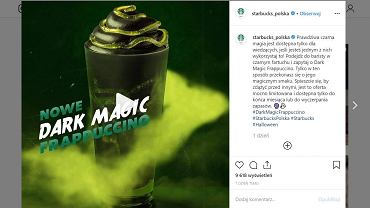 Dark Magic Frappuccino Starbucks