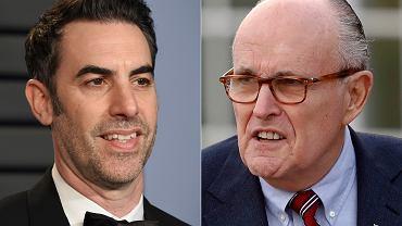 Sacha Baron Cohen i Rudy Giuliani