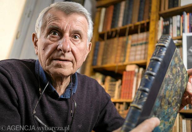 Książki były dla niego rodziną. Z ukochanego Lwowa wywoził je wagonami