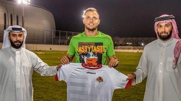 Łukasz Gikiewicz zagra w bahrajńskim East Riff Club