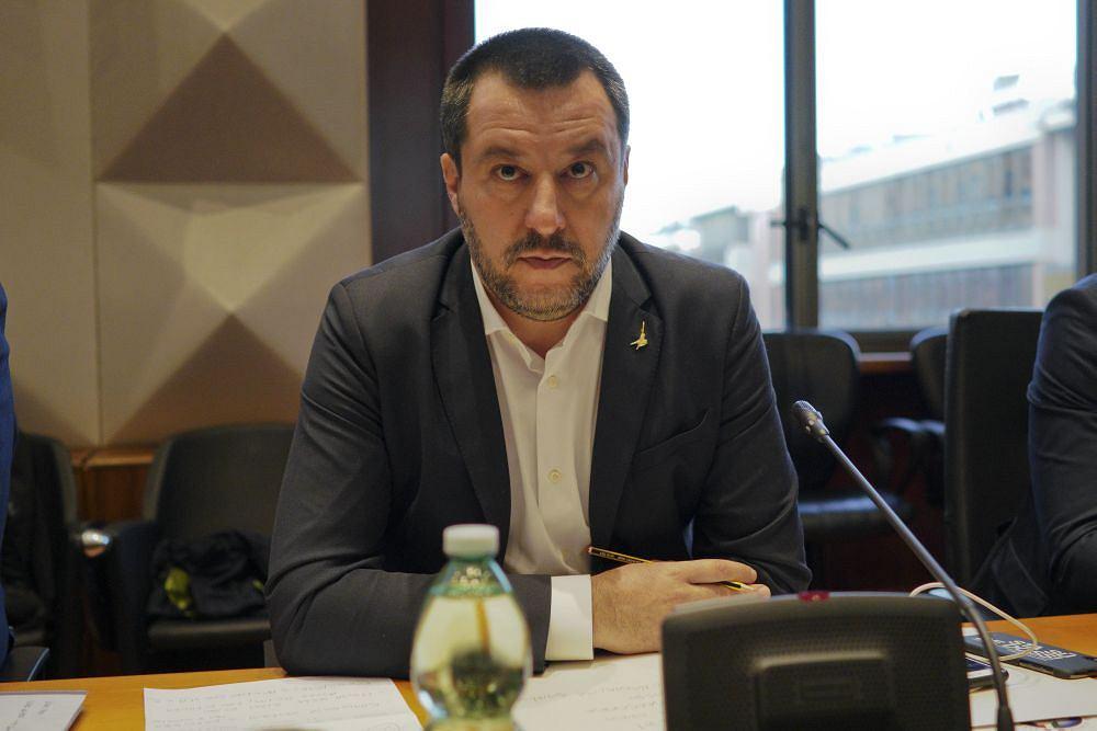 Premier Włoch Matteo Salvini