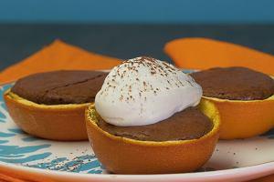 Brownie w pomarańczy