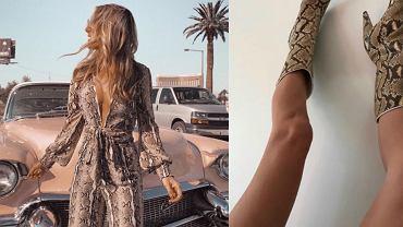 Trendy 2019 - skóra węża