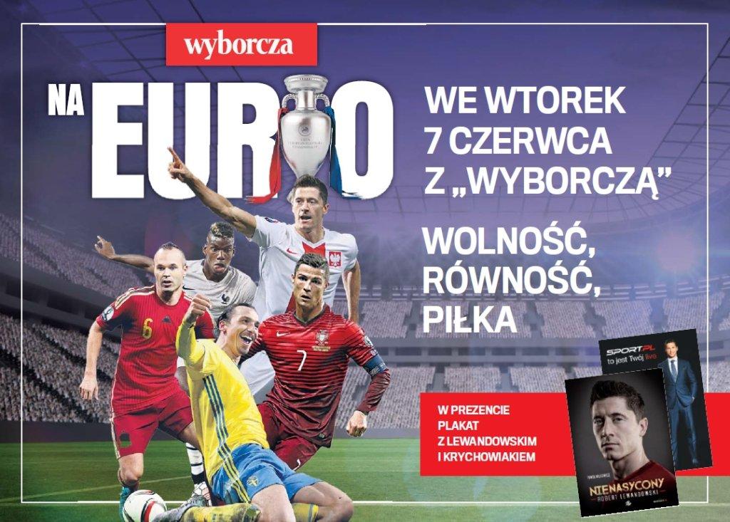 Dodatek na Euro i prezent - plakat