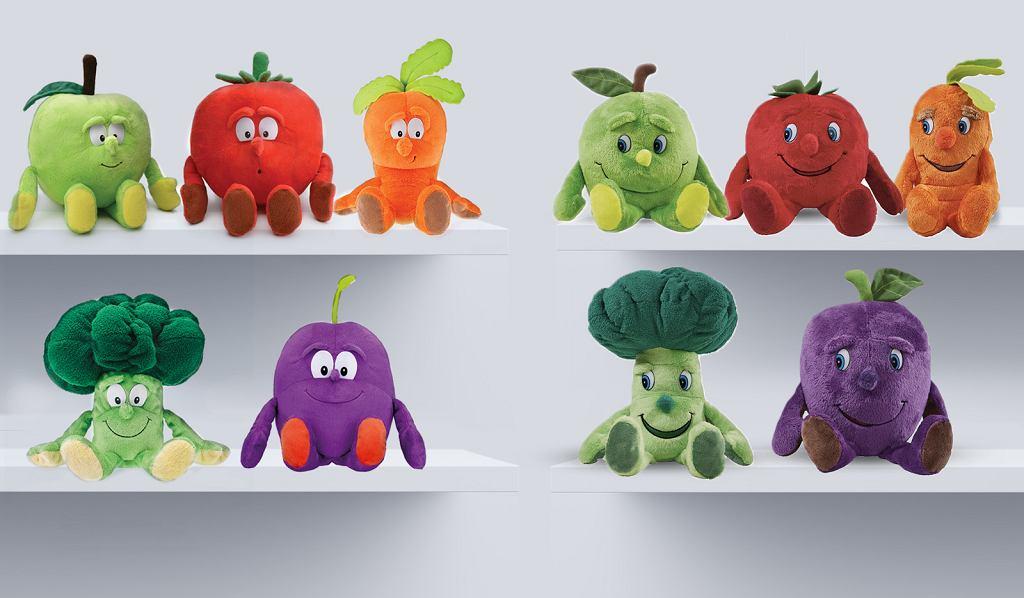 Gdy przyjrzymy się zabawkom dokładnie, zauważamy pewne różnice - m.in. inne oczy, usta czy fryzury. Nie wpływa to jednak zbytnio na ogólne podobieństwo między nimi.