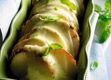 Czarne rzepki z sosem cytrynowym i miętą - ugotuj