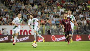 ASuper Meczu : Lechia Gdansk - FC Barcelona na PGE Arena w Gdansku